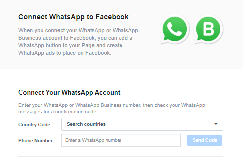 whatsapp business for facebook